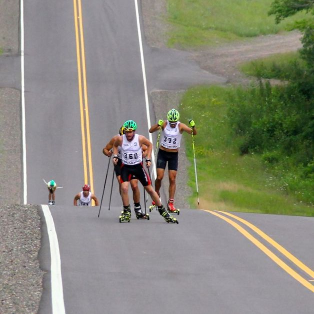 Roller Ski Time Trial At County Rd. OO