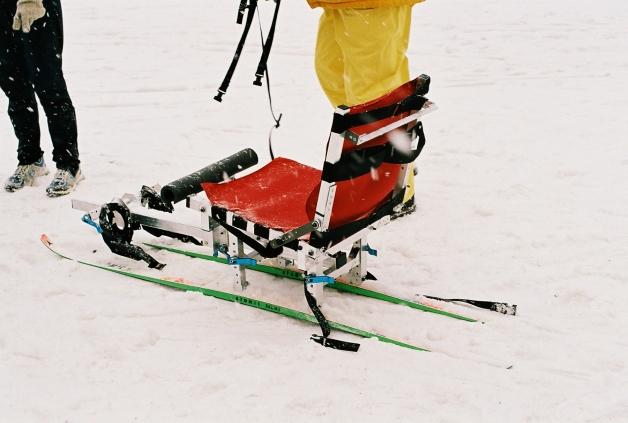 Adjustable Sit Ski