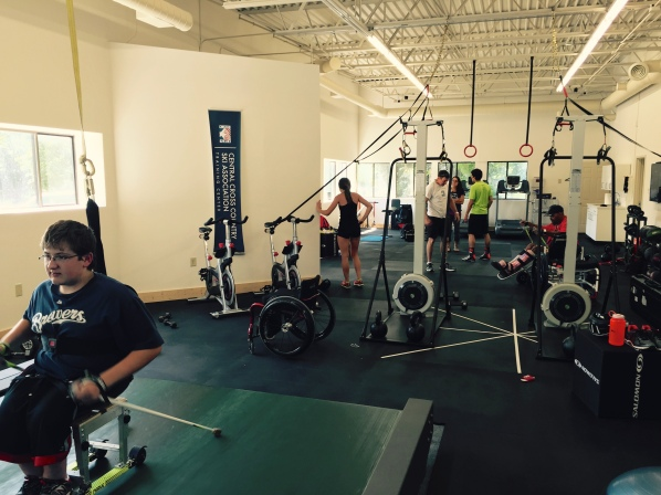 Adaptive Athletes at the CXC Center of Excellence
