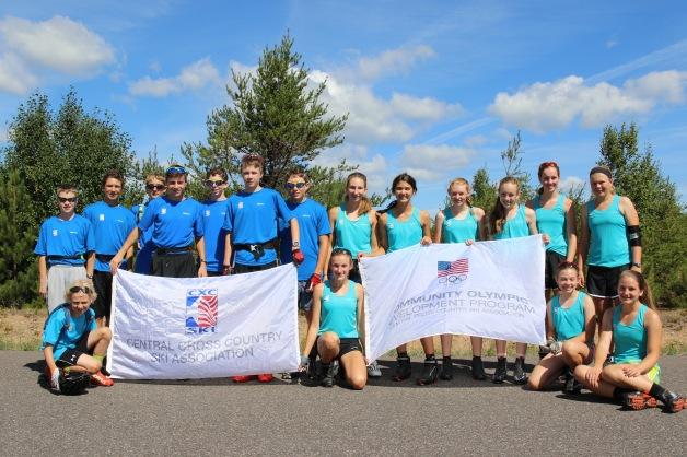 The U14 Group of the Inaugural Dream Camp