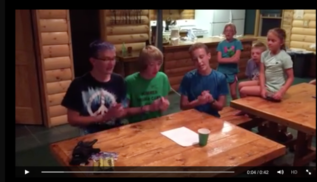 the Blue Mound Nordic Ski Team rappers are the winners of the August Igor Legacy Camp Poetry Contest in Ironwood.