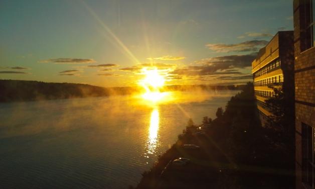 Chasing Sunrises, Location: Portage Lake