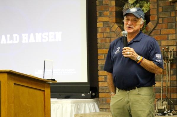 Gerald Hanson - Wayne Fish Volunteer of the Year Award Recipient